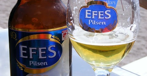 Efes Pilsen On Calis Beach