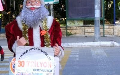 Santa Or Noel Baba In Fethiye Turkey