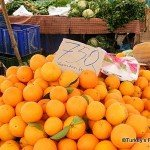 December Oranges On Fethiye Market