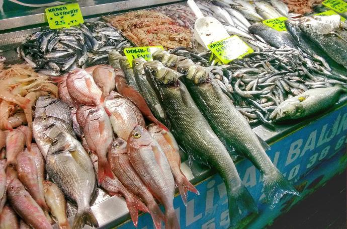Hamsi At Fethiye Fish Market