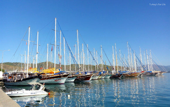 Starting Point Of Fethiye To Kayaköy Walk