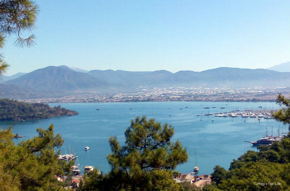 Fethiye View From Kayaköy Walk