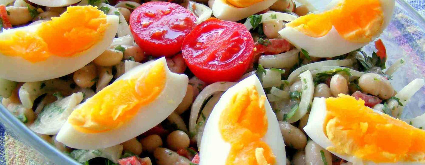 Antalya-Style Piyaz, White Bean Salad Recipe