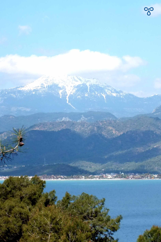 Çal Dağı From Fethiye Peninsula