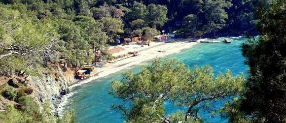 Help Beach From Fethiye Peninsula
