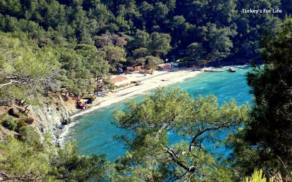 Help Beach From Fethiye Peninsula