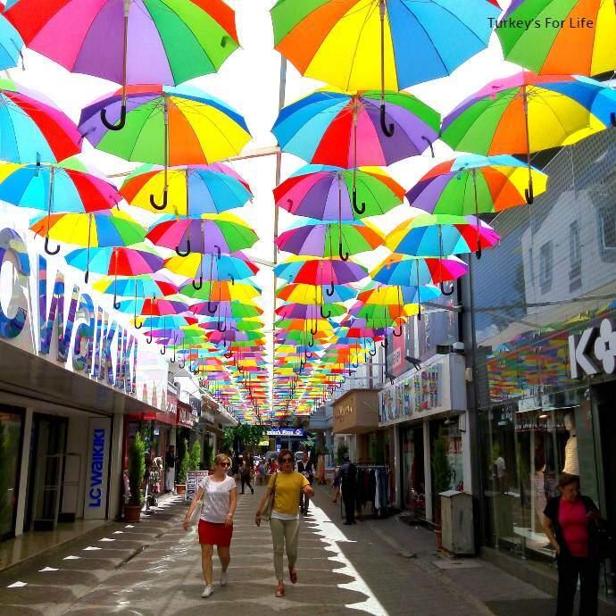 Fethiye High Street Shopping