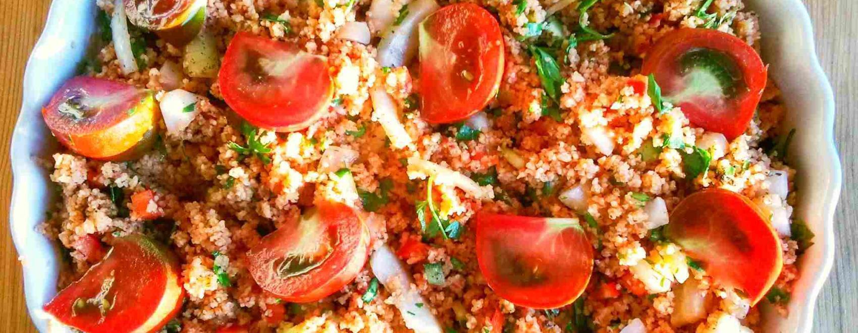 Kısır Bulgur Wheat Salad