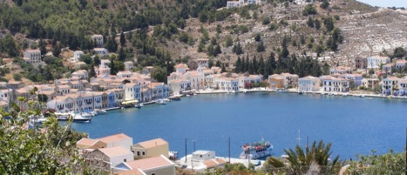 The Harbour Of Meis Kastellorizo