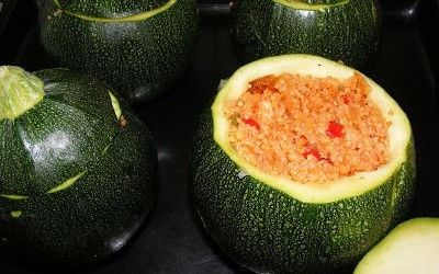 Bulgur And Courgette Dolma