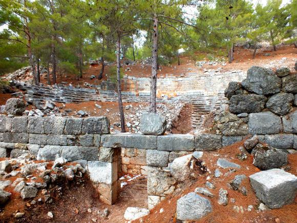 Cadianda Ruins Theatre
