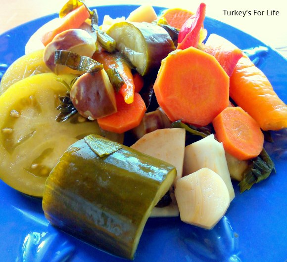 Turkish recipes pickles