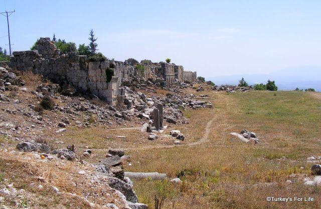 Tlos Ruins, Turkey