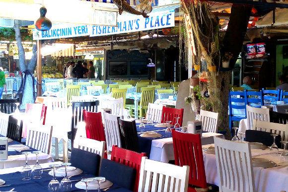 Fethiye Fish Market Restaurants