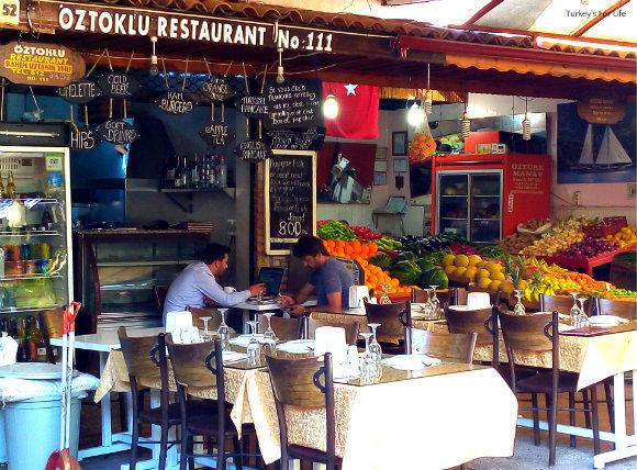 Oztoklu Restaurant, Fethiye Fish Market