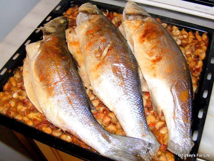 Seabass From Fethiye Fish Market