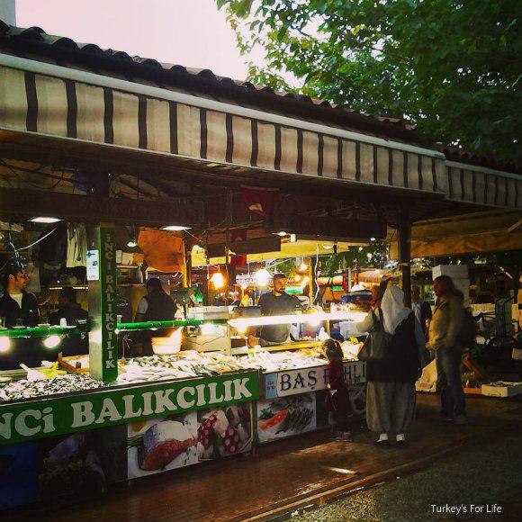 Shopping At Fethiye Fish Market