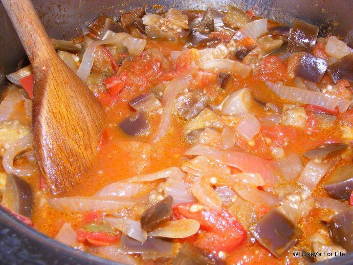 Sour Aubergine Recipe