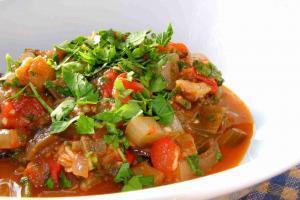 Sour Aubergine Stew