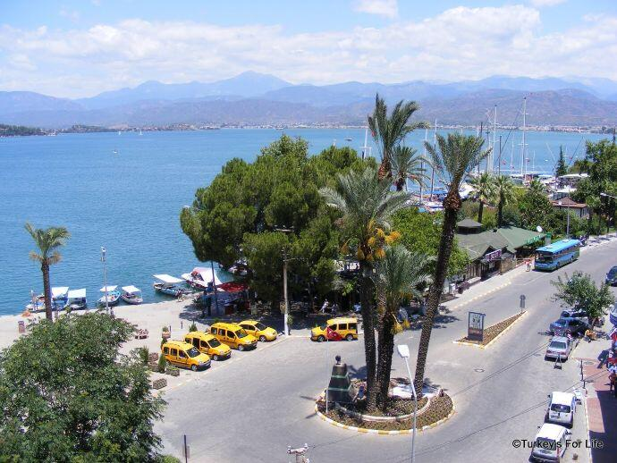 Fethiye Harbour From Paspatur