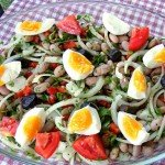 Turkish Food: Piyaz Salad For Summer Months