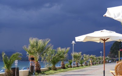Fethiye Weather In Photos – A Welcome 1st of September Downpour