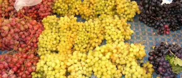 Grapes On Fethiye Market