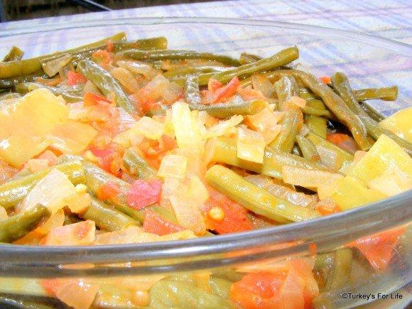 Zeytinyağlı Taze Fasulye - Green Beans in Olive Oil