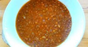 Turkish Green Lentil Soup