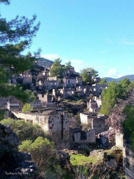 The Kayakoy Ruins