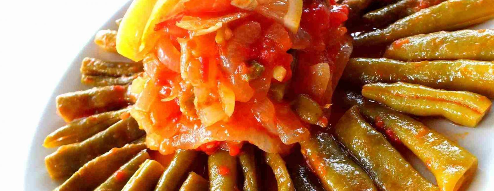Turkish Green Beans In Olive Oil Recipe