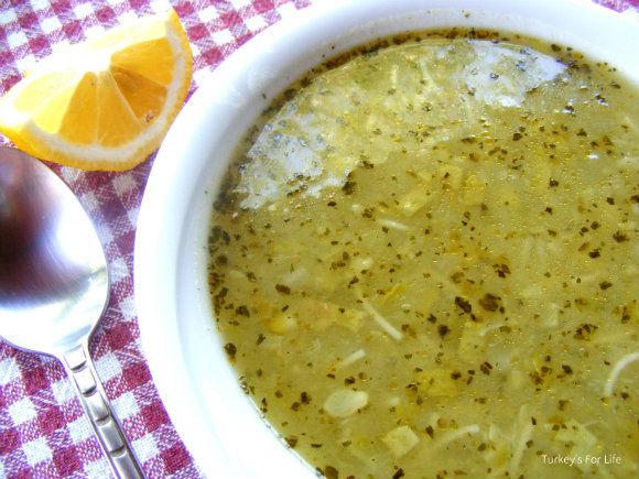 Patatesli Kabak Çorbası