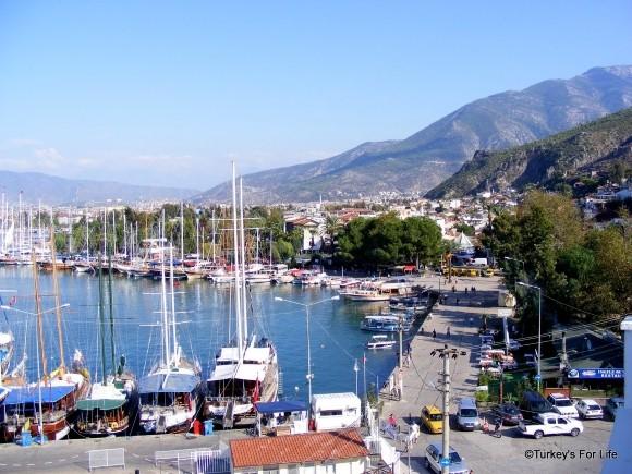 Fethiye Harbour Views From Dedeoğlu Hotel