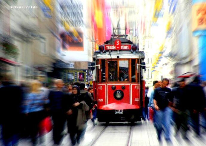 Istanbul Taksim-Tünel Historic Tram