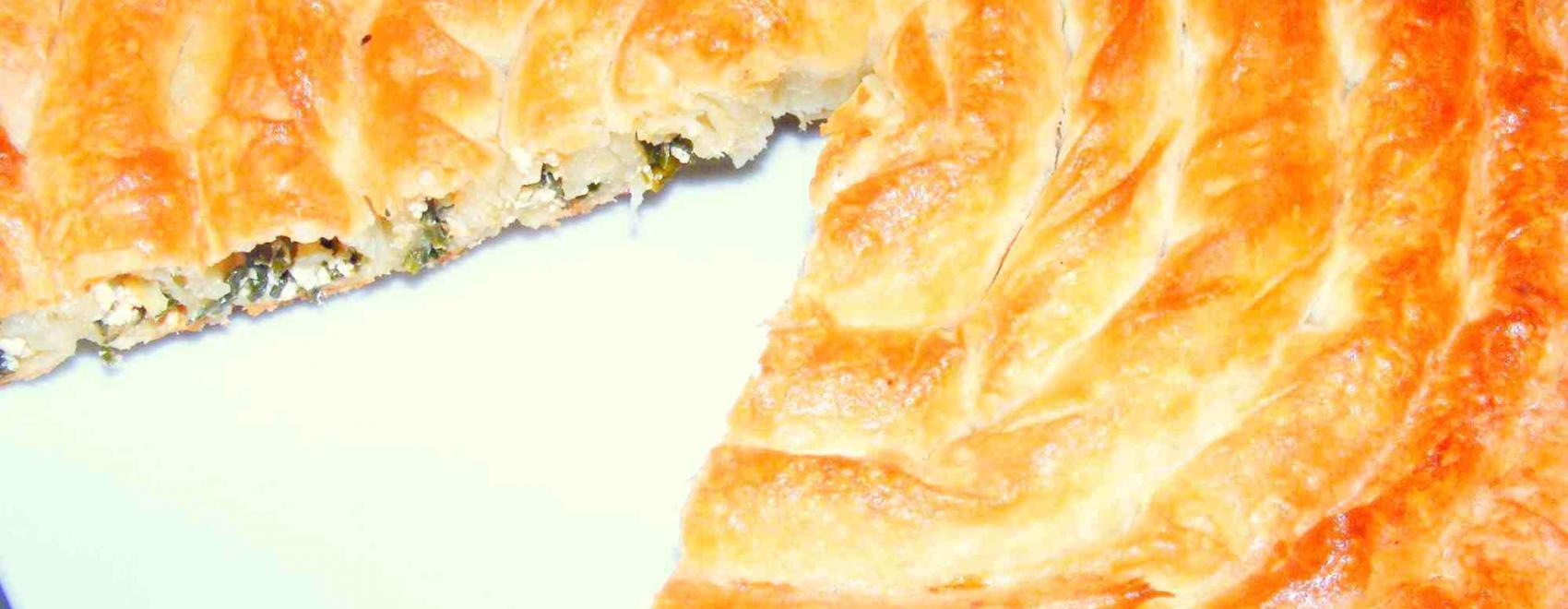 Kol Böreği Filo Spiral Recipe