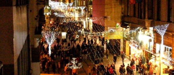 View Of Istiklal Caddesi From Baraka Bar