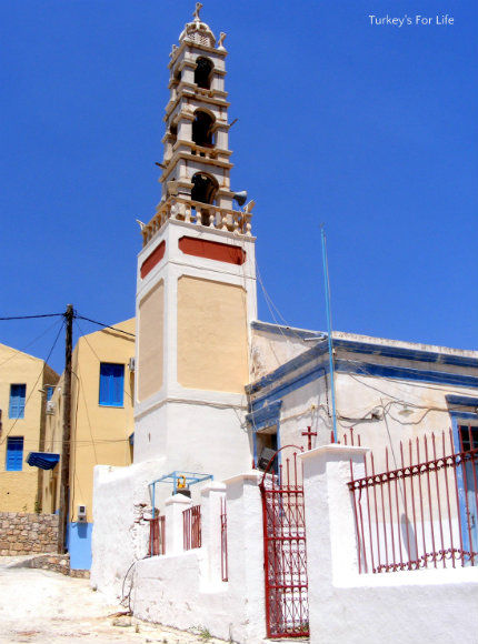 Church Of St Constantine And Elena Meis Kastellorizo