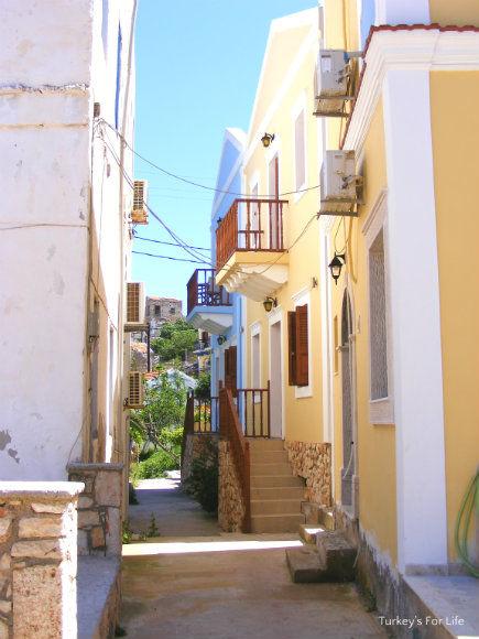Streets Of Kastellorizo