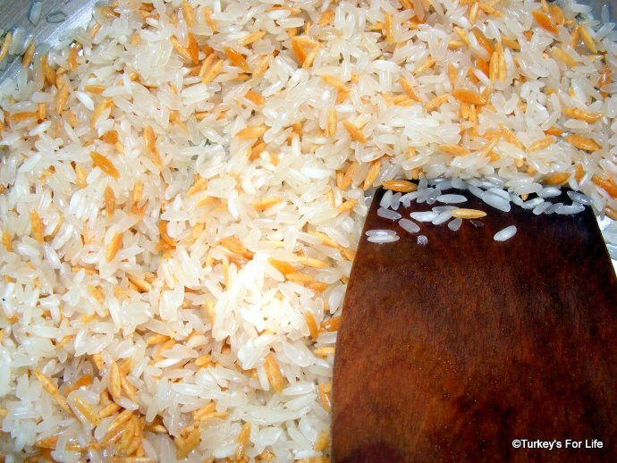 Turkish Rice Ingredients