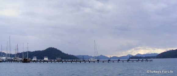 Gocek Marina In Winter