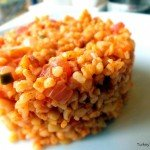 Domatesli Bulgur Pilavı – A Recipe For Turkish Bulgur Pilaf With Tomatoes