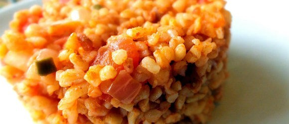 Bulgur Pilaf Serving