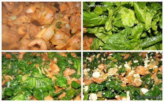Spinach And Mushroom Börek Recipe