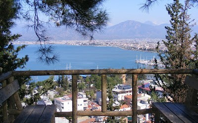 View Of Fethiye Marina, Turkey