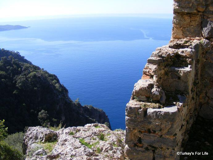 Afkule Monastery Views, Fethiye