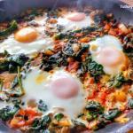 Spinach And Eggs Recipe