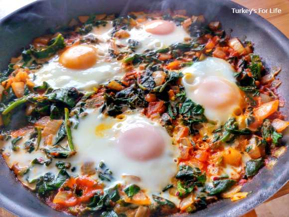 Spinach And Eggs Recipe