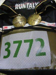 Antalya Runtalya Medal