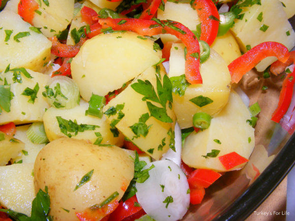 Turkish Potato Salad Recipe