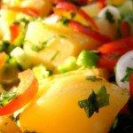 A Turkish Potato Salad Recipe: Patates Salatası